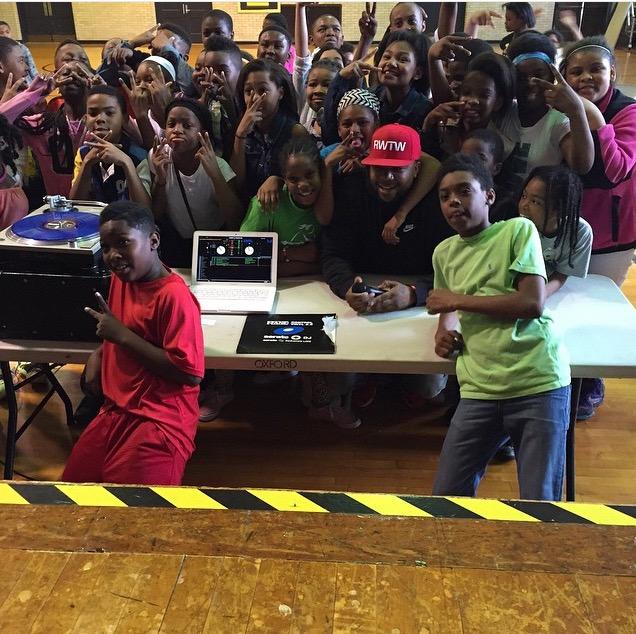 DJ Meel Speaks at Oxford Elementary