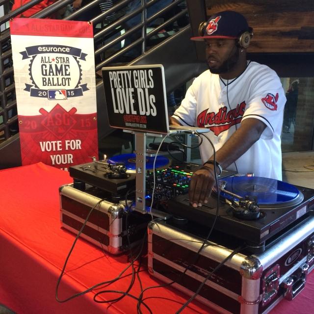 DJ Steph Floss x Cleveland Indians